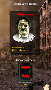 Zombie Wars: Apocalypse CCG- screenshot thumbnail
