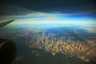 Photo: Cloudless over the Canyon | Flying over the Grand Canyon on the way back from CA. It was quite spectacular. © 2010 Ryan Lynham