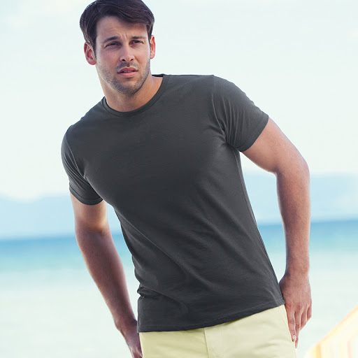 Fruit Of The Loom Slim Fit T-Shirt (Mens)