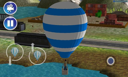 気球:人々の救助