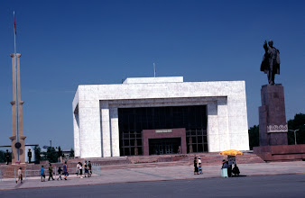 Photo: 2001, Bishkek, Weißes Haus =Parlament