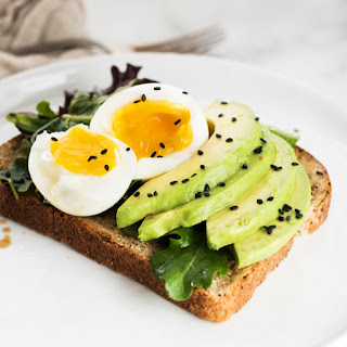 Miso Avocado Toast with Soft Boiled Egg
