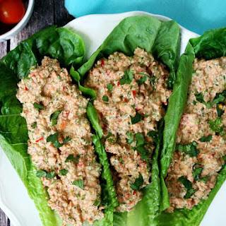 "Raw Mock ""Chicken"" Salad (Raw, Vegan, Gluten-Free, Dairy-Free, Paleo-Friendly)."