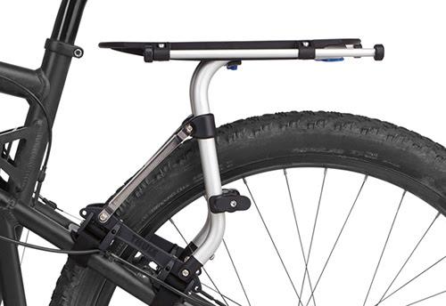 Portabultos bici doble suspensión