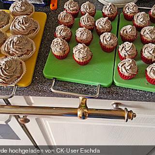 Vegane Oreo-Cupcakes.
