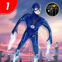 Superhero Flying flash hero game 2020 icon