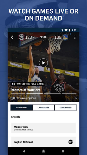 NBA: Live Games & Scores 10.0313 screenshots 4