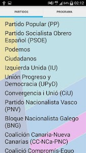 Test Elecciones 2015 screenshot 4