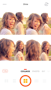 Retrica - Selfie, Sticker, GIF- screenshot thumbnail