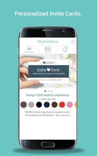 WedPics - Wedding Photo App - náhled