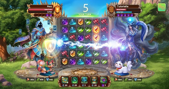Heroes of Alterant: Match 3 RPG Screenshot