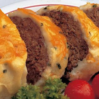 Baked Alaska Meat Loaf