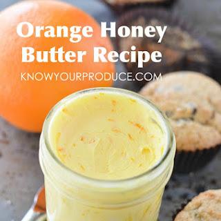 Orange Honey Butter.