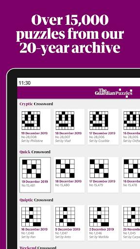 Guardian Puzzles & Crosswords screenshot 10