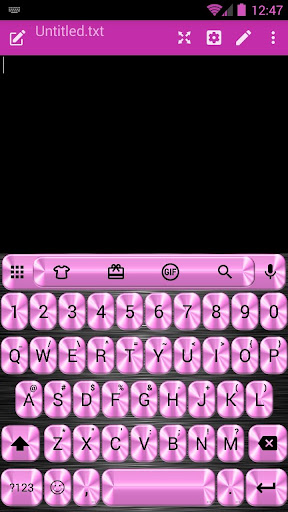 MetalPink Emoji 键盘