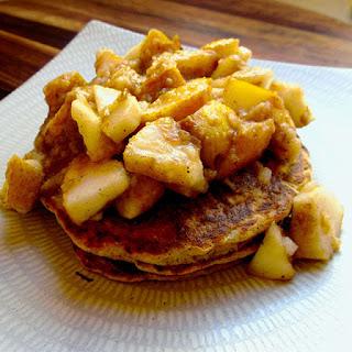 Multigrain Sourdough Pancakes with Chunky Pear Salsa