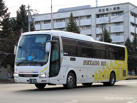 北海道バス「帯広特急ニュースター号」 ・977
