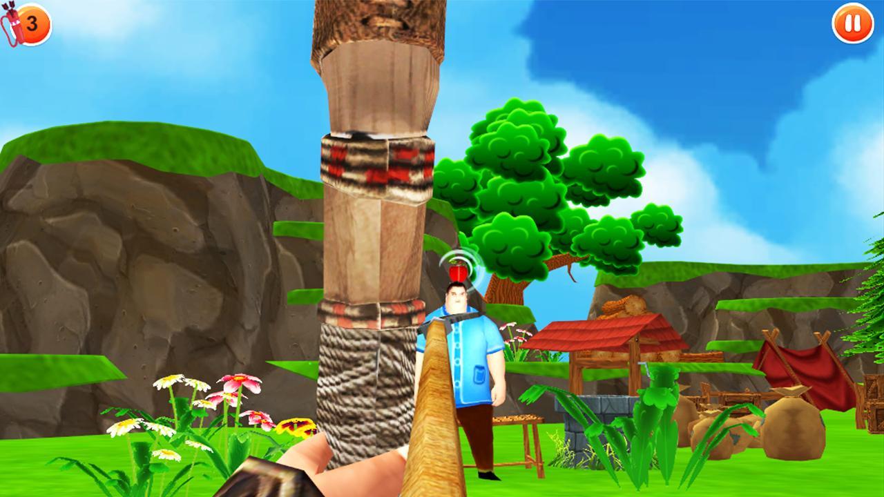 Fruit shoot game - Apple Shooter Archery Games Screenshot