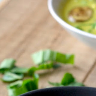Thai Coconut Soup with Bok Choy & Mushrooms.