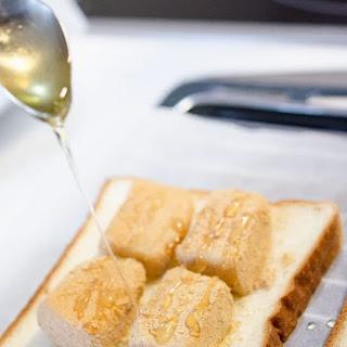 Injeolmi Toast - Korean Honey Rice Cake Toast Sandwich.