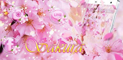 Pink Sakura 2018 Tema Aplikasi Di Google Play