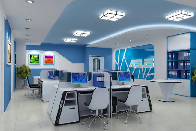 mô hình văn phòng hiện đại