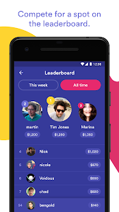 HQ Trivia (Unreleased)- screenshot thumbnail