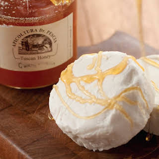 Goat Cheese with Honey.