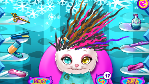 Pet Kitty fantasy hairstyle