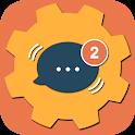 Oreo Plus App Notifications Settings icon