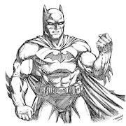 Comment Dessiner Un Batman Bruce Wayne Realiste Derniere Version