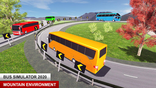 City Passenger Coach Bus Simulator: Bus Driving 3D apkpoly screenshots 4
