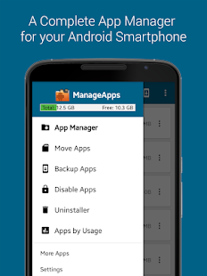 ManageApps (App Manager)- screenshot thumbnail