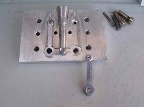 Photo: La première version du moule; suite à quelques pb de démoulage, il sera modifié.