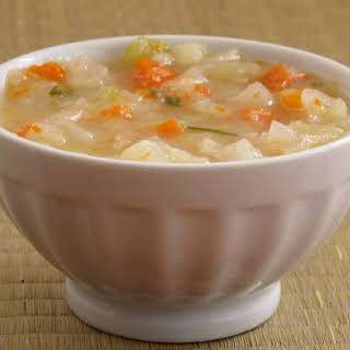 Mother's Stone Soup version of Sally Schneider's French Winter Vegetable Soup.
