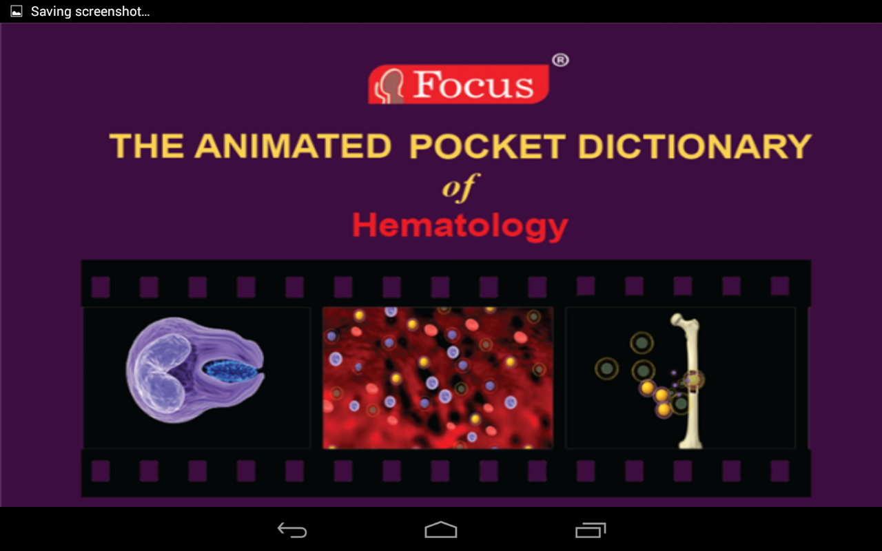 Hematology - Medical Dict.- screenshot