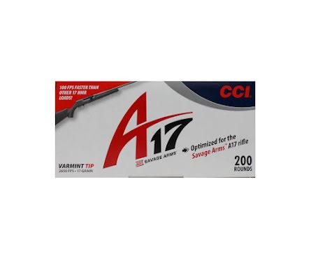 CCI 17 HMR Varmint tip 17gr 200st