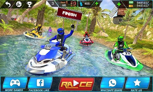Water Jet Ski Boat Racing 3D 1.3 screenshots 1