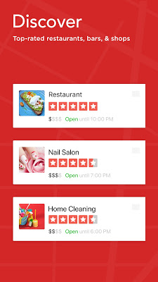 Yelp: Food, Shopping, Services - screenshot