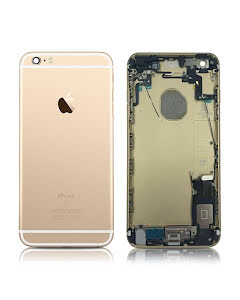 iPhone 6S Plus Back Housing with small parts Original Pulled Silver