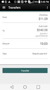 CFCU Mobile banking screenshot 2