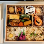 bento box for shinkansen in Osaka, Osaka, Japan
