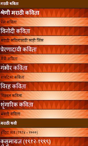 All Marathi poems in hindi