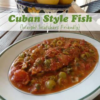 Cuban Style Fish.
