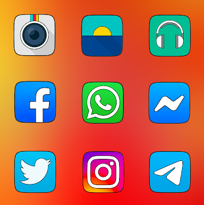 OXYGEN SQUARE - ICON PACK Screenshot Image