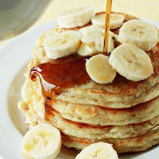 Fluffy Banana Pancakes.