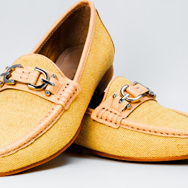 Shoes by Bert Templeton - Artistic Objects Clothing & Accessories ( tan, canvas, yellow, lady, ladies, womens, shoes, shoe, leather, women )
