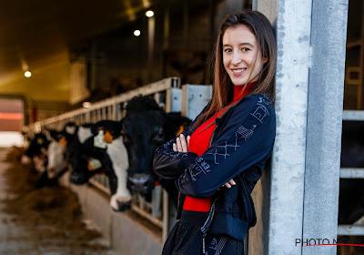 Topturnster Nina Derwael test net als partner Siemen Voet (KV Mechelen) positief op het coronavirus