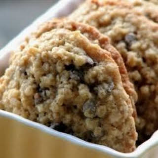 Chewy Chocolate Chip Oatmeal Cookies.