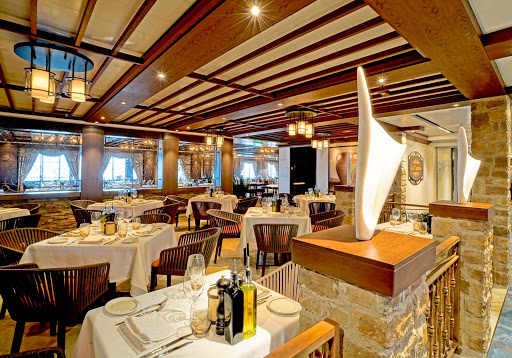 Norwegian-Escape-LaCucina - Dine in opulence at La Cucina on board Norwegian Escape.